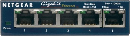 Immagine di Netgear GS105GE - ProSafe Switch 5 porte Gigabit