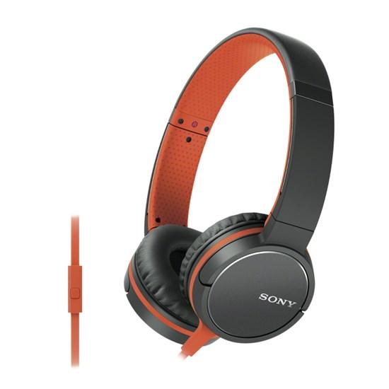 Immagine di Sony MDR-ZX660AP - Cuffie per smartphone arancio