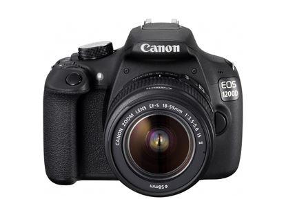 Immagine di Canon Eos 1200D + Canon EF-S 18-55 mm f:3.5-5.6 IS II + 8 GB