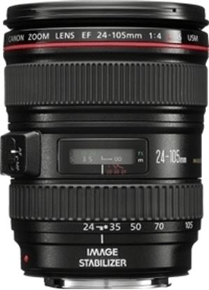 Immagine di Canon EF  24-105 mm f/4L IS USM (Scatola Bianca)