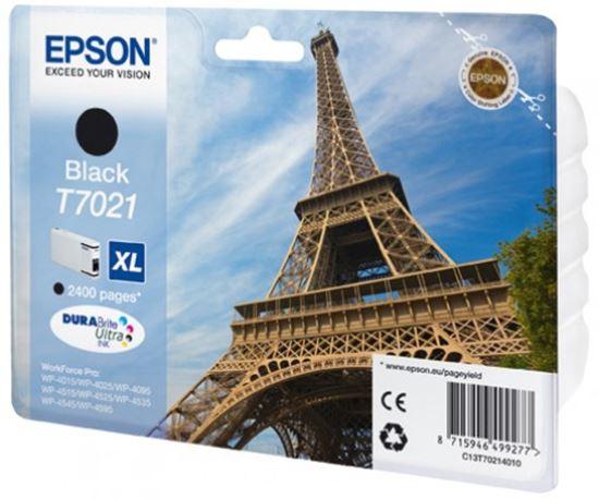 Immagine di Epson C13T70214010 - Serbatoio Torre Eiffel Nero XL