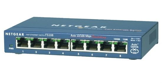 Immagine di Netgear FS108-300PES -  ProSafe Switch 8 porte 10/100