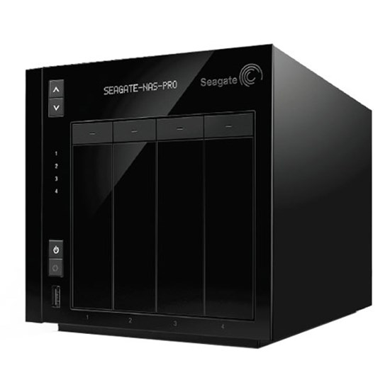 Immagine di Seagate NAS Pro 4-Bay Diskless Raid 0,1,5,6,10 Intel Inside - STDE200