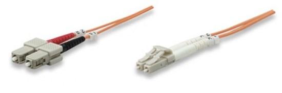 Immagine di Cavo fibra ottica multimodale 62,5/125  SC/LC 1  metro - 2 metro