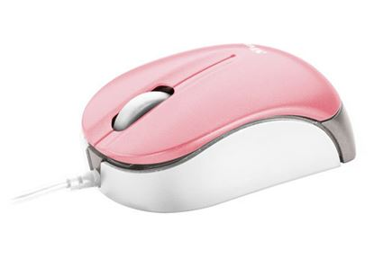 Immagine di Trust 16154 - Mouse Nanou micro - Pink