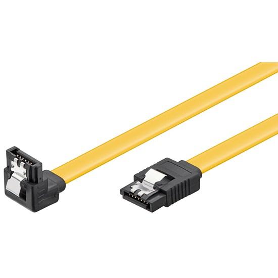 Immagine di Cavo Serial ATA 6GBs Interno Angolato 100 cm