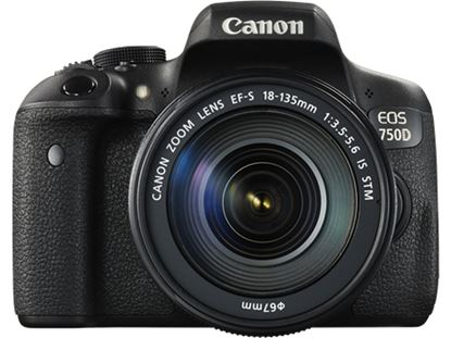 Immagine di Canon Eos 750D corpo + Canon EF-S 18-55 IS STM
