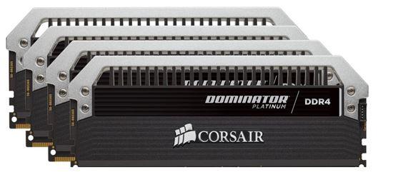 Immagine di Corsair Dominator Platinum CMD32GX4M4A2400C14 - DDR4 32GB (4x8GB)