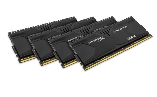 Immagine di Kingston Hyperx Predator HX430C15PB2K4/16 - DDR4 16GB (4x4GB)