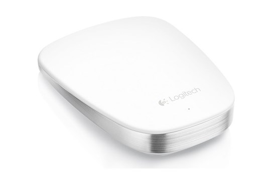 Immagine di Logitech T631 Ultrathin Touch Mouse Bianco Bluetooth