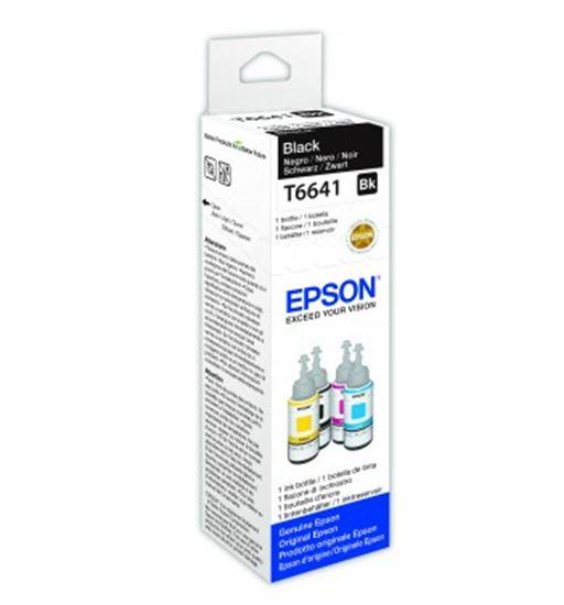Immagine di Epson C13T664140 - Flacone inchiostro 70 ml Ecotank Nero