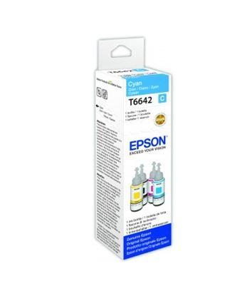 Immagine di Epson C13T664240 - Flacone inchiostro 70 ml Ecotank Ciano