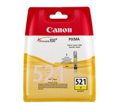 Immagine di Canon CLI-521Y - Cartuccia giallo