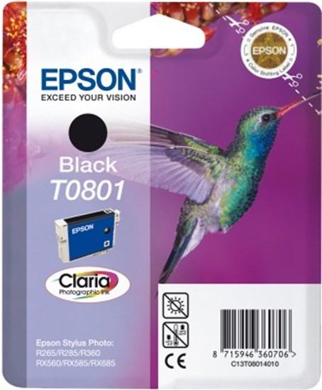 Immagine di Epson C13T08014010 - Cartuccia Colibrì Nero