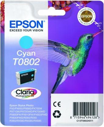 Immagine di Epson T080240 - Epson Stylus - Ciano - Colibri