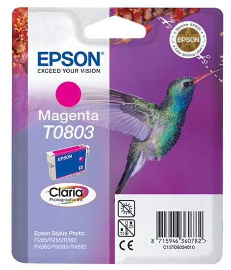 Immagine di Epson C13T08034011 - Cartuccia Colibrì Magenta
