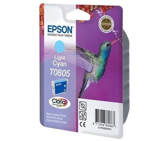 Immagine di Epson C13T08054021 - Cartuccia Colibrì Ciano Chiaro