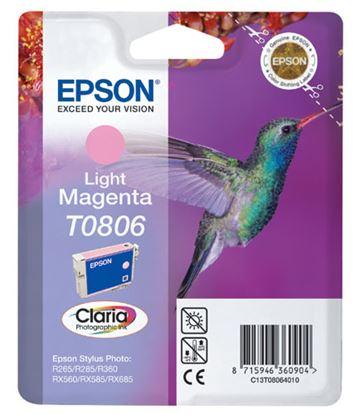 Immagine di Epson C13T08064021 - Cartuccia Colibrì Magenta Chiaro