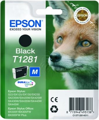 Immagine di Epson C13T12814010 - Cartuccia Volpe M Nero