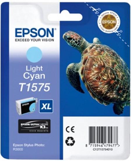 Immagine di Epson C13T15754010 - Cartuccia Tartaruga Ciano Chiaro