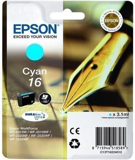 Immagine di Epson C13T16224010 - Cartuccia Penna e Cruciverba Ciano