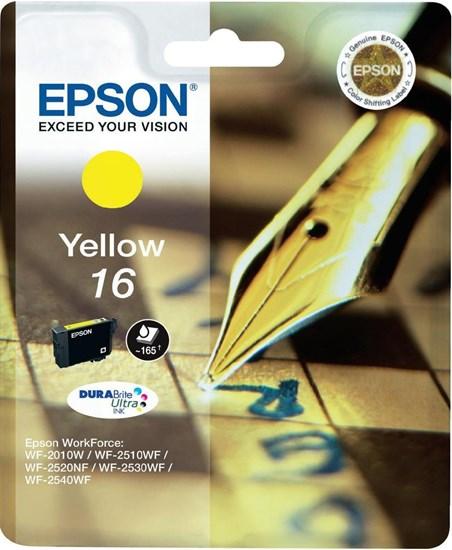 Immagine di Epson C13T16244010 - Cartuccia Penna e Cruciverba Giallo