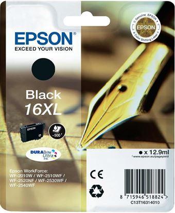 Immagine di Epson C13T16314010 - Cartuccia Penna e Cruciverba Nero XL