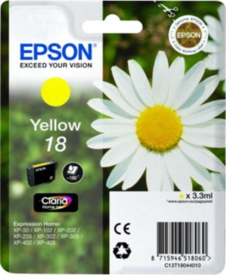 Immagine di Epson C13T18044010 - Cartuccia Margherita Giallo