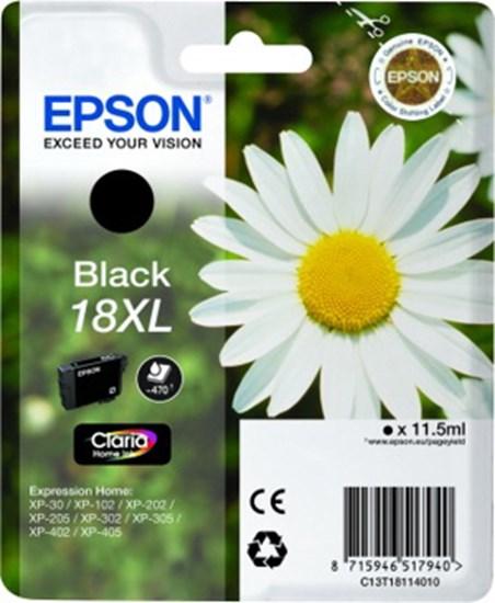 Immagine di Epson C13T18114010 - Margherita Nero XL