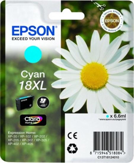 Immagine di Epson C13T18124010 - Cartuccia Margherita Ciano XL