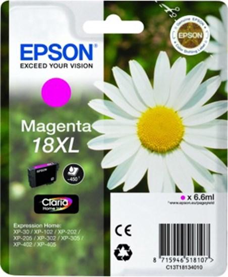 Immagine di Epson C13T18134010 - Margherita Magenta XL
