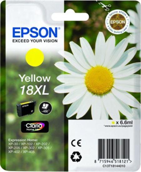 Immagine di Epson T1814 - Cartuccia Margherita Giallo 18XL