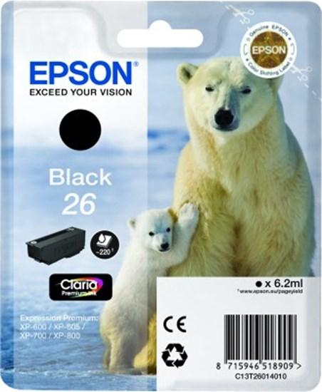 Immagine di Epson C13T26014020 - Cartuccia Orso Nero