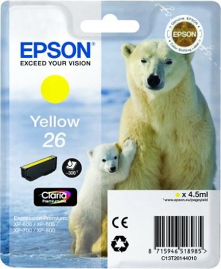 Immagine di Epson C13T26144010 - Cartuccia Orso Giallo