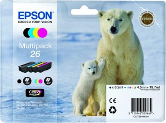 Immagine di Epson C13T26164020 - Multipack Orso