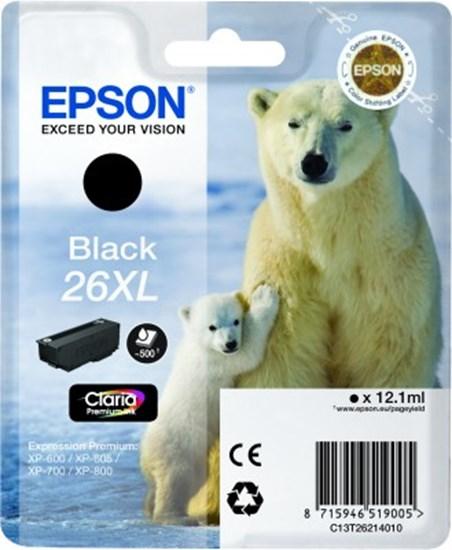 Immagine di Epson C13T26214010 - Cartuccia Orso Nero XL