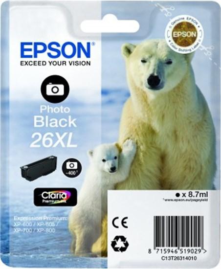 Immagine di Epson C13T26314010 - Cartuccia Orso Nero Photo XL