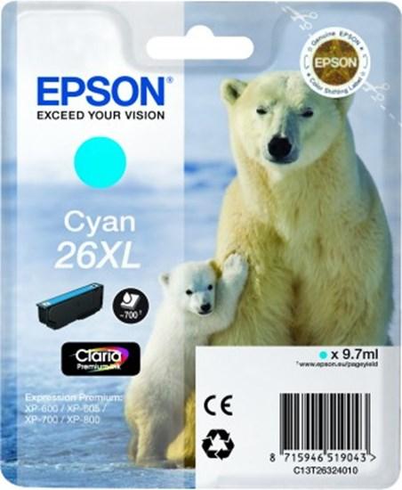 Immagine di Epson C13T26324010 - Cartuccia Orso Ciano XL
