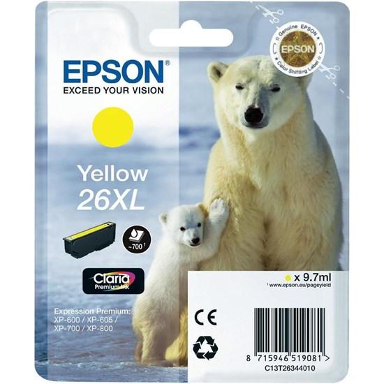 Immagine di Epson C13T26344020 - Cartuccia Orso Giallo XL