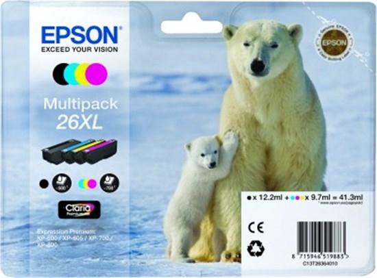 Immagine di Epson C13T26364010 - Multipack Orso XL
