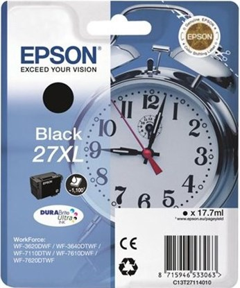Immagine di Epson C13T27114020 - Cartuccia Orologio Nero XL