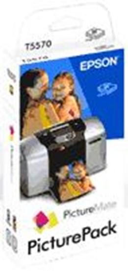 Immagine di Epson C13T557040BH/BG - Kit Carta  + Cartucce per  PictureMate - 100 fogli