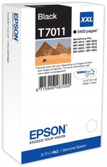 Immagine di Epson C13T70114010 - Serbatoio Piramidi Nero XXL
