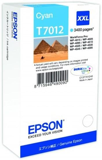 Immagine di Epson C13T70124010 - Serbatoio Ciano Piramidi XXL