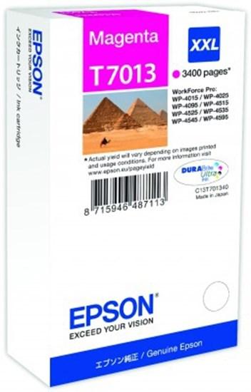 Immagine di Epson C13T70134010 - Serbatoio Piramidi Magenta XXL