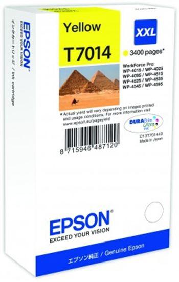 Immagine di Epson C13T70144010 - Serbatoio Piramidi Giallo XXL
