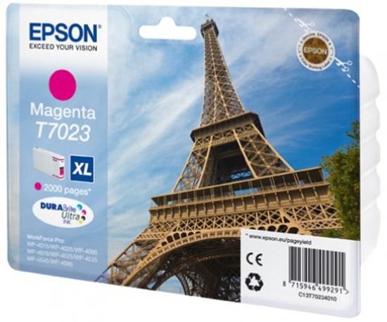 Immagine di Epson C13T70234010 - Serbatoio Torre Eiffel Magenta XL