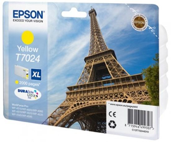 Immagine di Epson C13T70244010 - Serbatoio Torre Eiffel XL Giallo