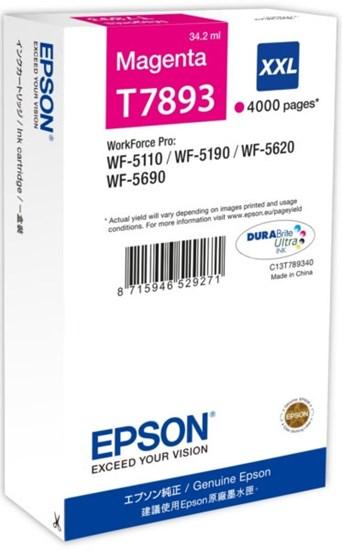 Immagine di Epson C13T789340 - Serbatoio Magenta XXL