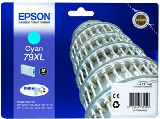 Immagine di Epson C13T79024010 - Serbatoio Torre di Pisa Ciano XL